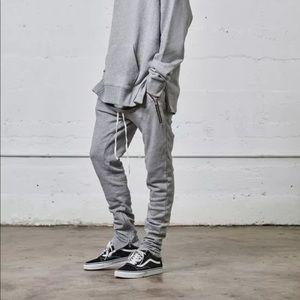 Other - PacSun Fear of God Sweatpants Gray Zipper FOG